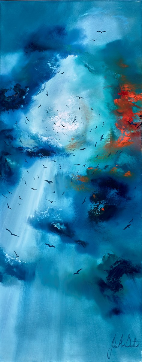 Going Home II by julie ann scott -  sized 16x40 inches. Available from Whitewall Galleries